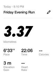 Running Challenge 33rd Day
