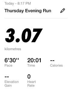 Running Challenge Day 11