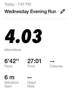 Running Challenge Day 3