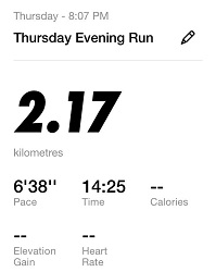 Running Challenge 32nd Day