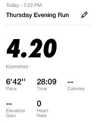 Running Challenge 39th Day