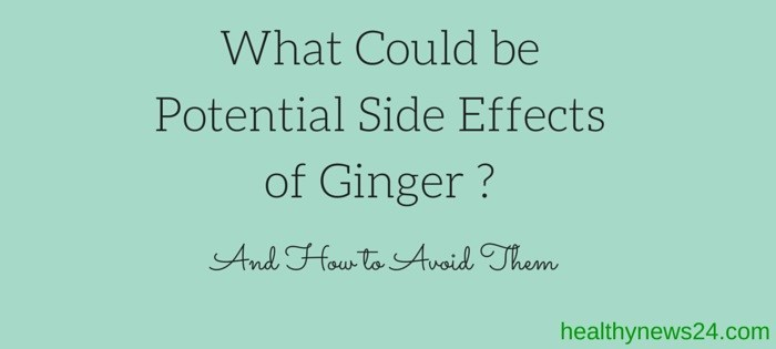 side effects of ginger
