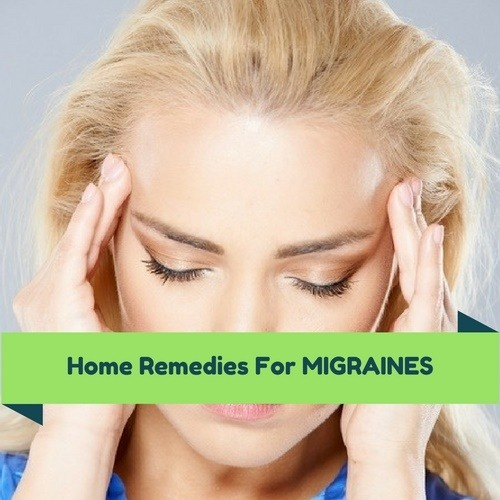 home remedies for migraines relief