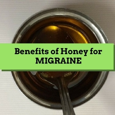benefits of honey for migraine