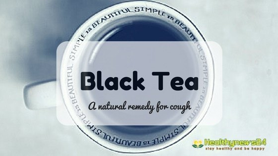 black tea for cough and cold