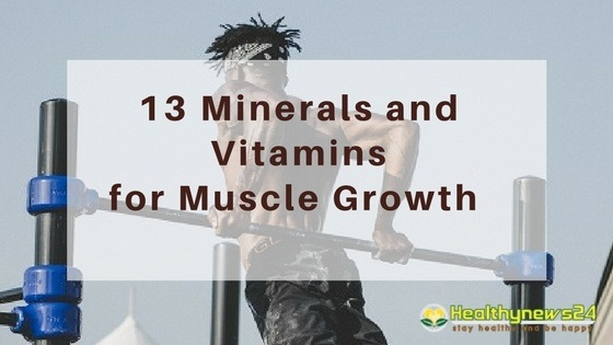 vitamins for muscle growth