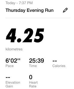 Running Challenge Day 4