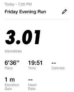 Running Challenge Day 5