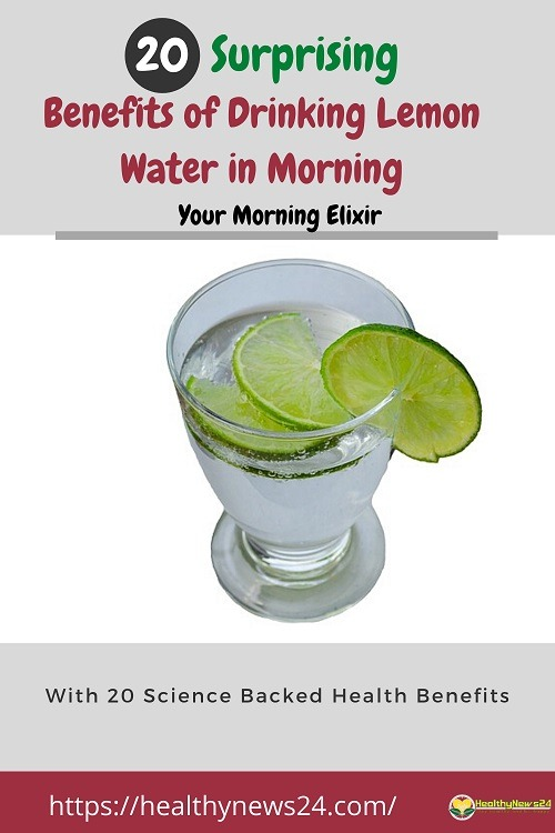 Benefits of drinking lemon water in morning